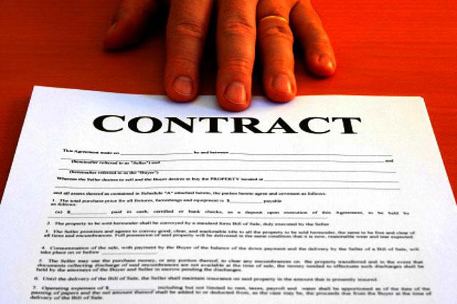hợp đồng rõ ràng